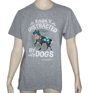 Easily Distracted by Dogs Tee New York Shirt Co.